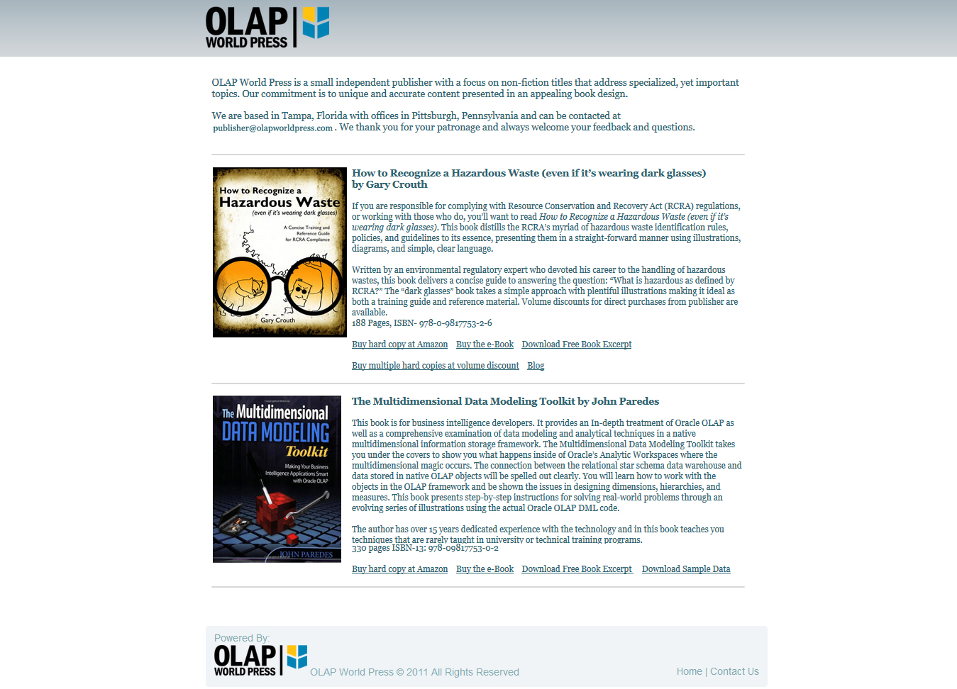 olap-static-website