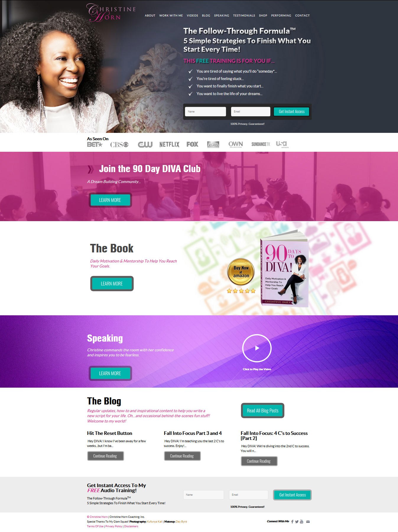 christine-wordpress-website-design