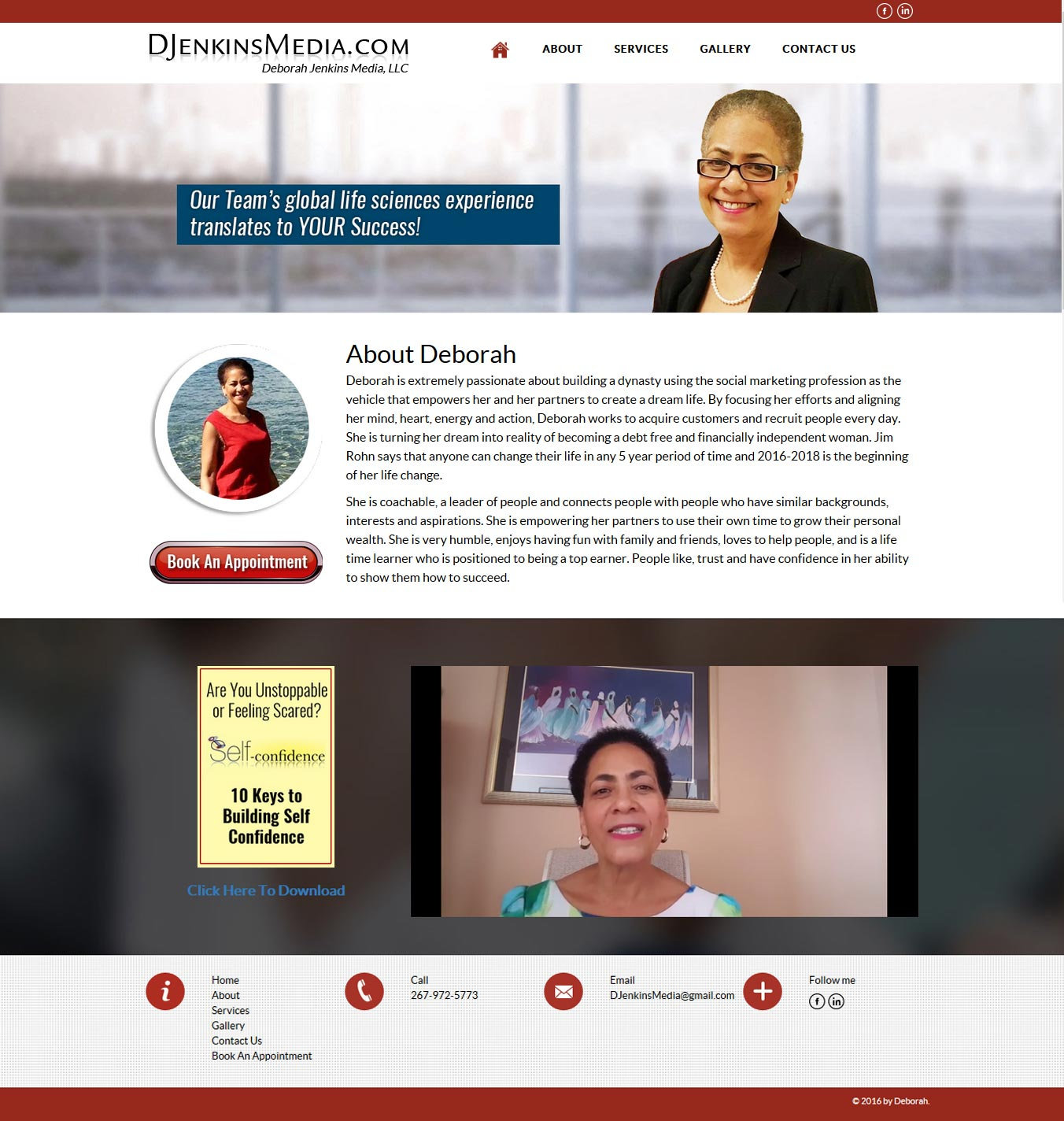 deborah-wordpress-website-design