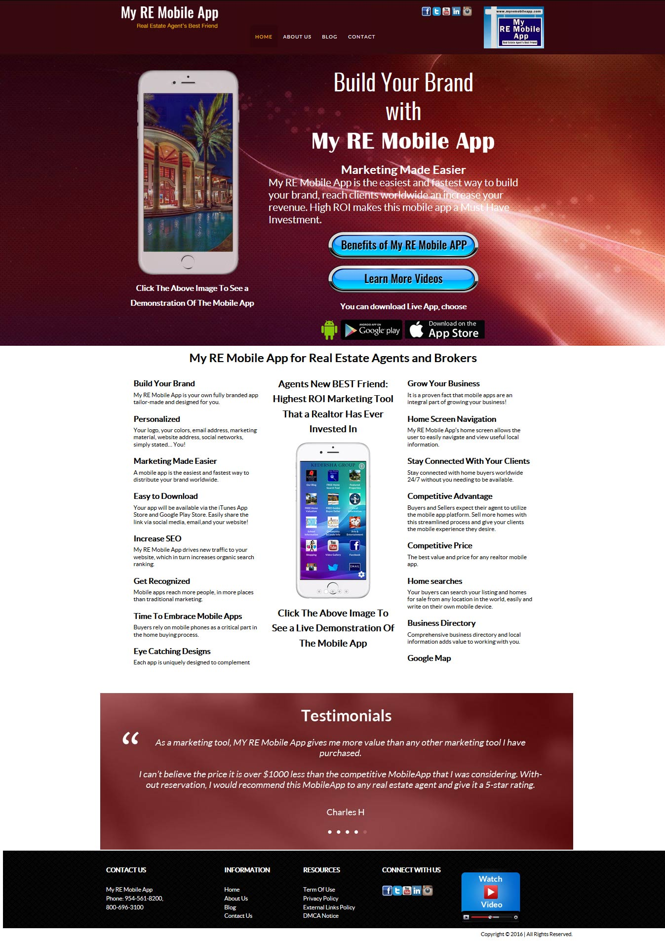 mobile-application-wordpress-website-design