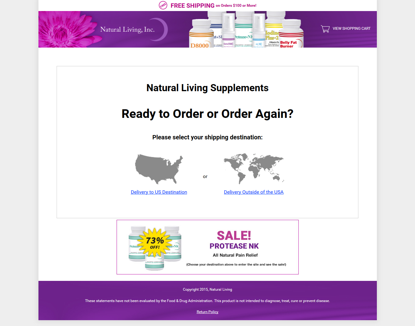 natural-living-supplements-ecommerce